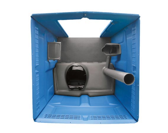 portable toilet rental interior