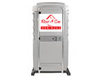 portable toilet rental front