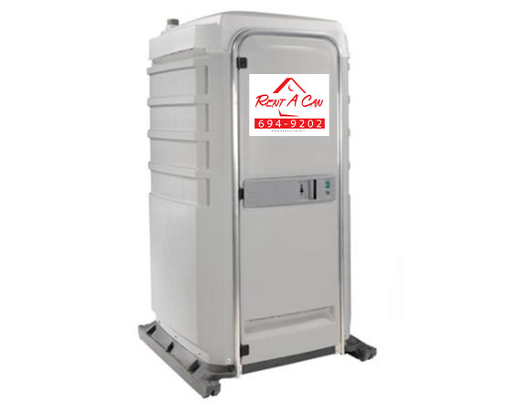 portable toilet rental left